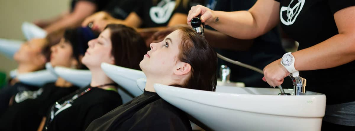 Clary Cosmetology Students