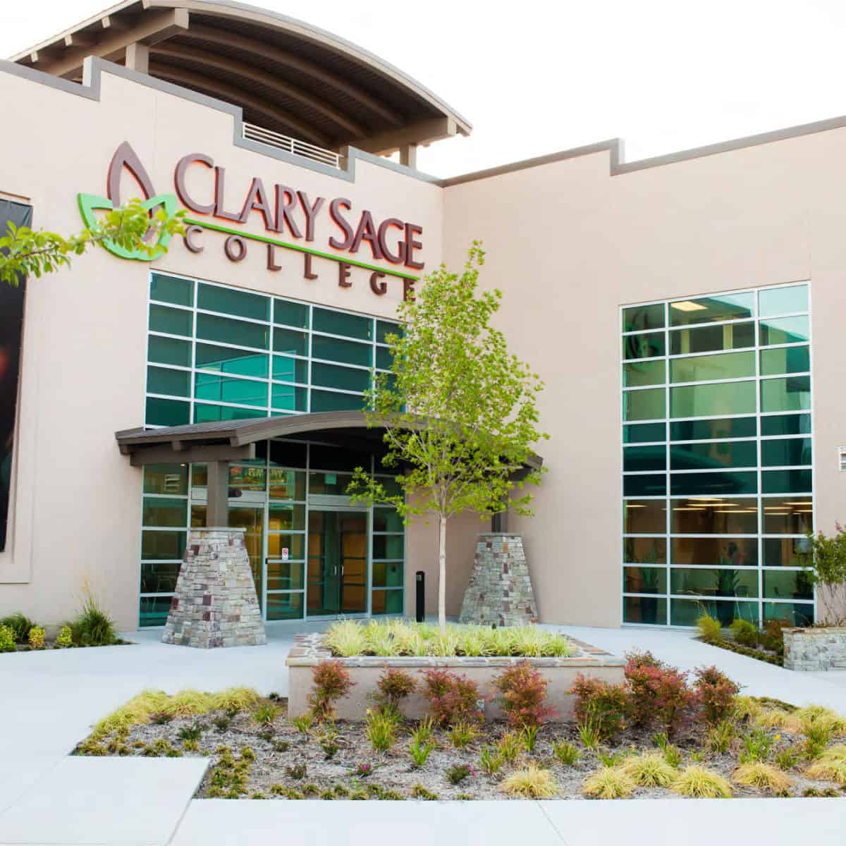 clary sage college building