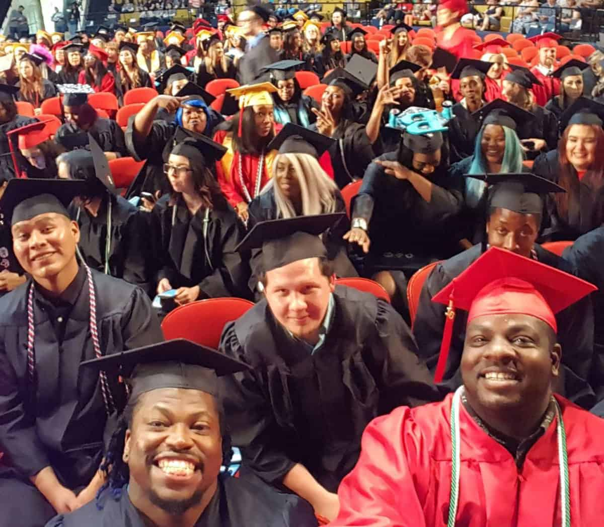 Community HigherEd Graduating Class in Tulsa