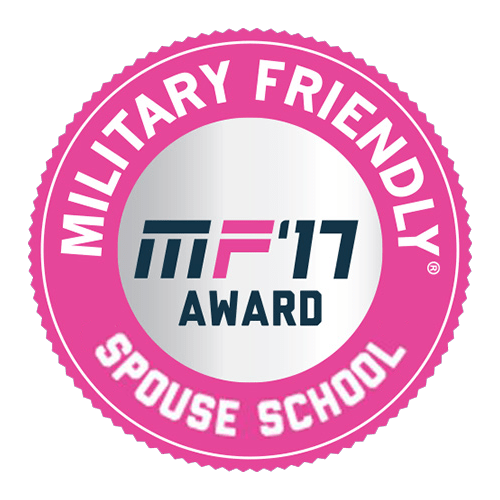 Clary Sage has been recognized as a top 10 military friendly spouse schools for 2017