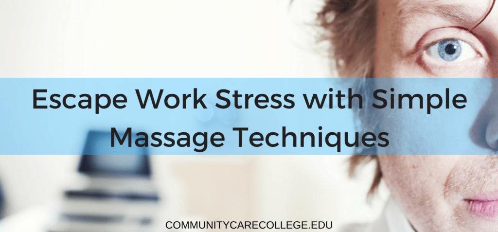 stress; work; massage; massage techniques; headache; back pain
