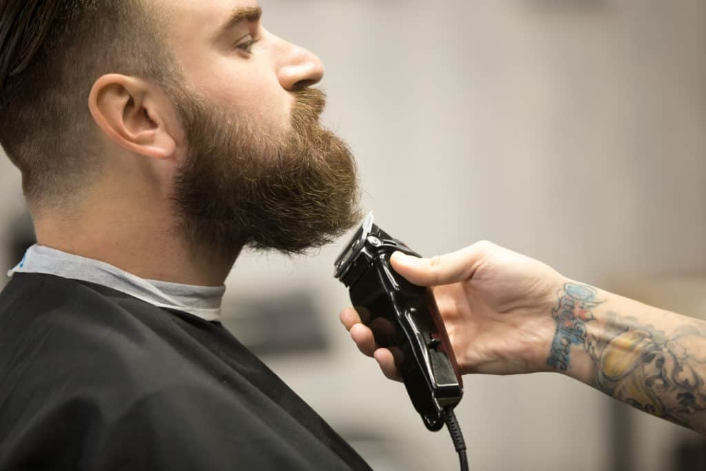 Professional Beard Grooming at Clary Sage College