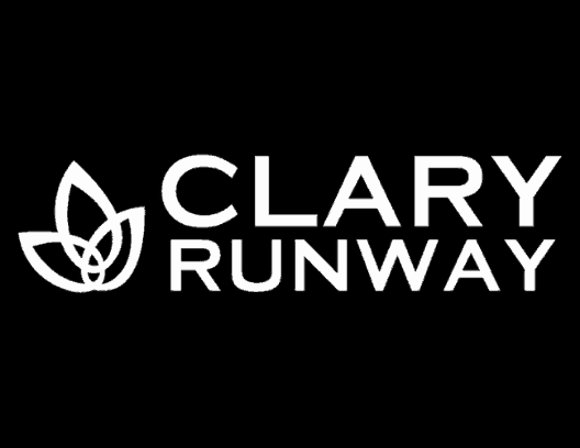 Clary Fashion Runway Black Logo
