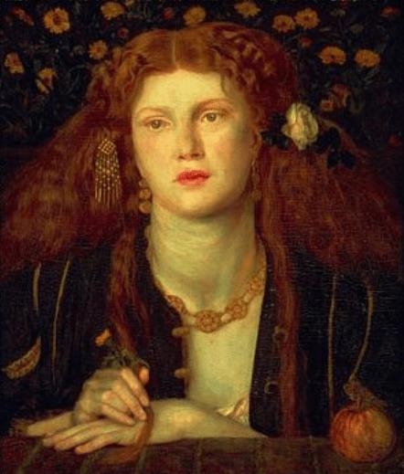 Bocca Baciata Dante Gabriel Rossetti 1859